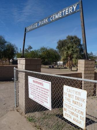 Terrace Park Cemetery. Photo by author.